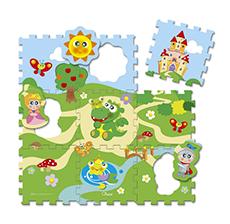 Chicco Puzzle Matten Schloss