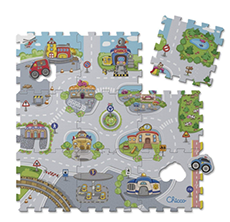 Chicco City Puzzlematte Test