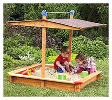 Der Testsieger GASPO 310016 Holz Sandkasten