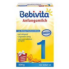 Bebivita 1 Anfangsmilch Test