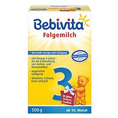 Bebivita 3 Folgemilch Test