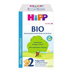 HiPP 2 Folgemilch Bio