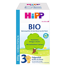 HiPP 3 Folgemilch Testsieger