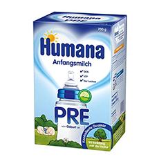 Humana Anfangsmilch Pre mit LCP und GOS