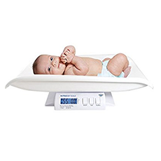 Die MyWeigh Babywaage im Test digital